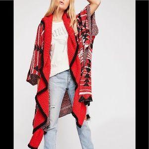 Free People Acadia Cozy Kimono